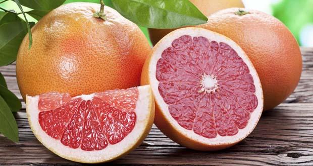 Грейпфрут идеально рекомендован для рациона в январе
