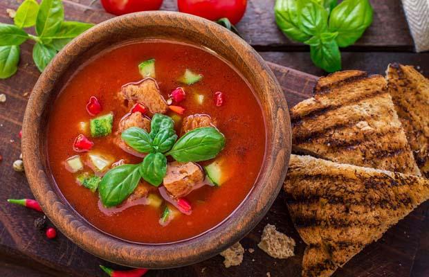 Гаспачо - идеальный обед в жару